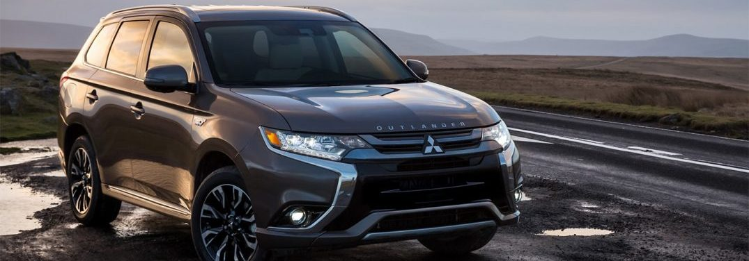 2018 Mitsubishi Outlander PHEV driving on a highway