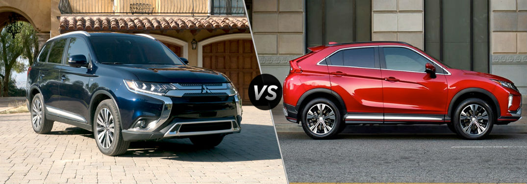 Should I get a 2019 Mitsubishi Outlander or a 2019 Mitsubishi Eclipse Cross?