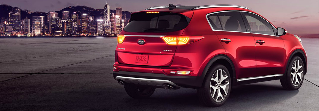 2017 Kia Sportage color options and specs