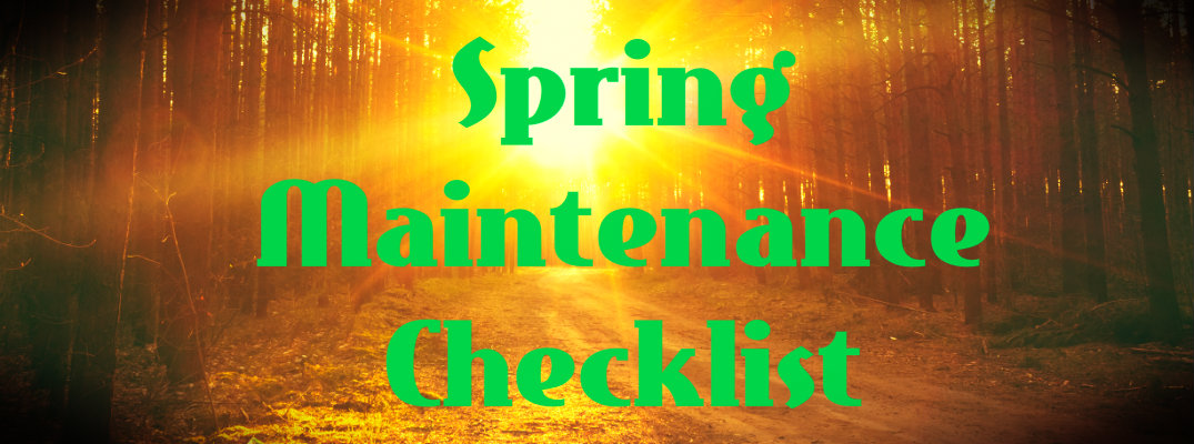 Spring Maintenance Checklist for Your Car
