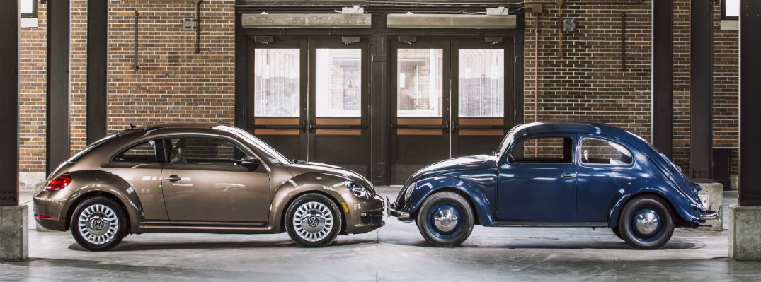 So Retro: Volkswagen Beetle Models From Over the Years
