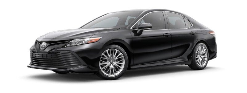 2019 Toyota Camry Midnight Black Metallic