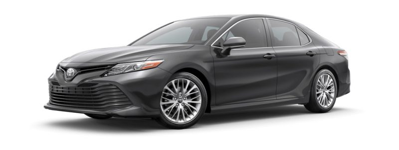 2019 Toyota Camry Predawn Gray Mica O1 Continental Motors