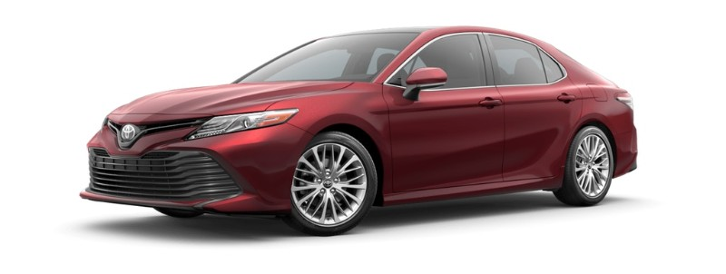 2019 Toyota Camry Ruby Flare Pearl