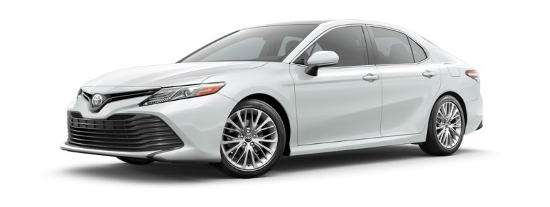 2019 Toyota Camry Wind Chill Pearl