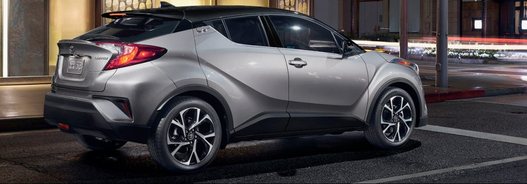 profile view of the 2019 toyota C-hr