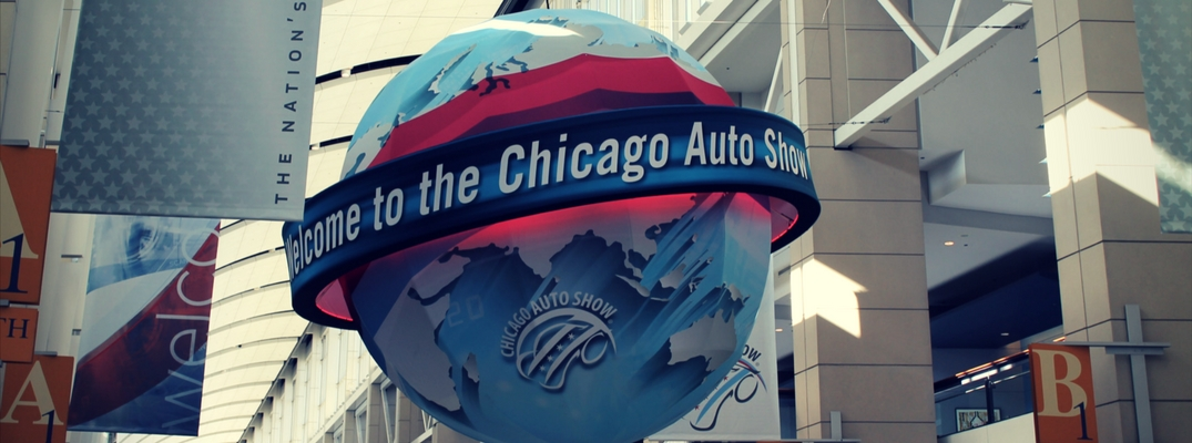 What models are on display at the 2019 Chicago Auto Show?