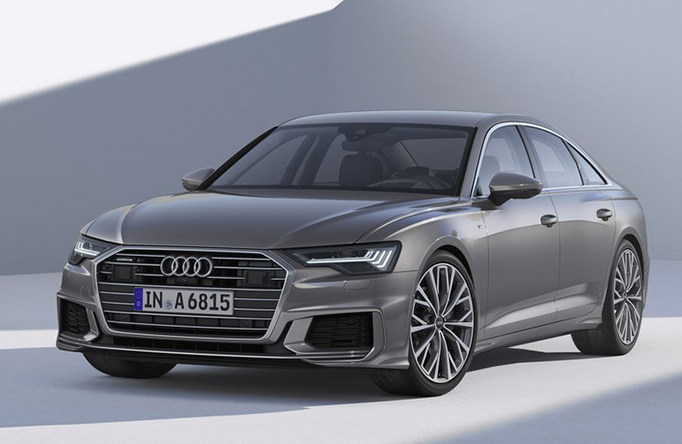 exterior front of the 2019 Audi A6