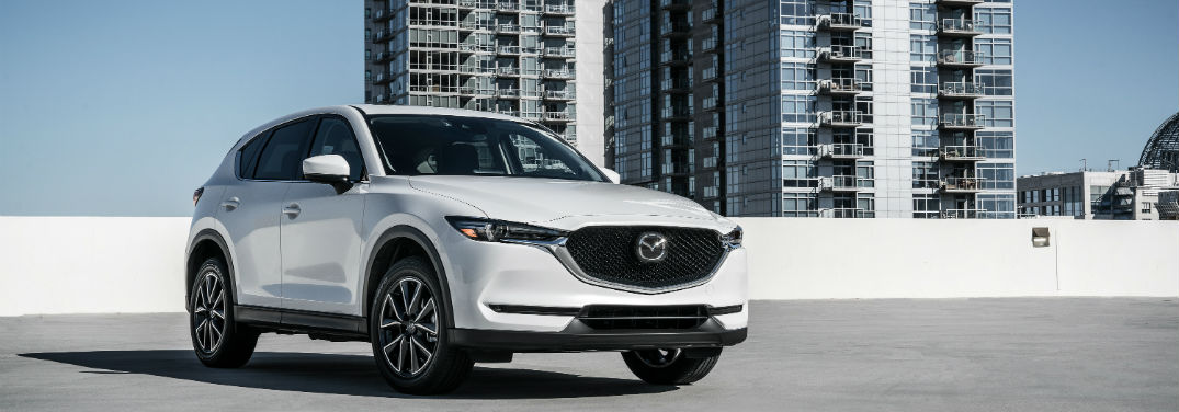 2018 mazda cx-5 on a rooftop
