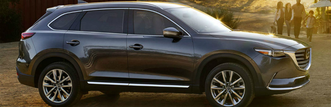 2018 Mazda CX-9 on the road