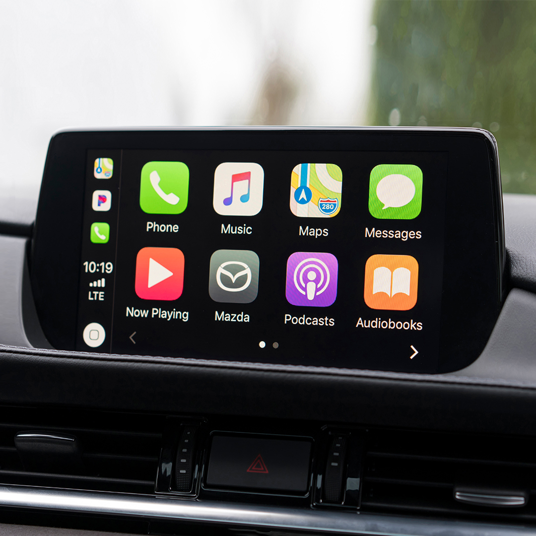 which 2019 mazda models come with apple carplay and. Black Bedroom Furniture Sets. Home Design Ideas