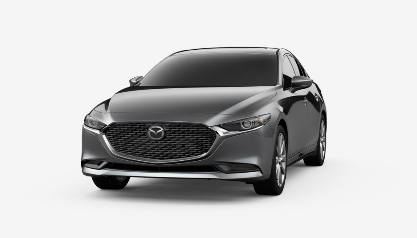 2019 Mazda3 Sedan in Machine Gray Metallic