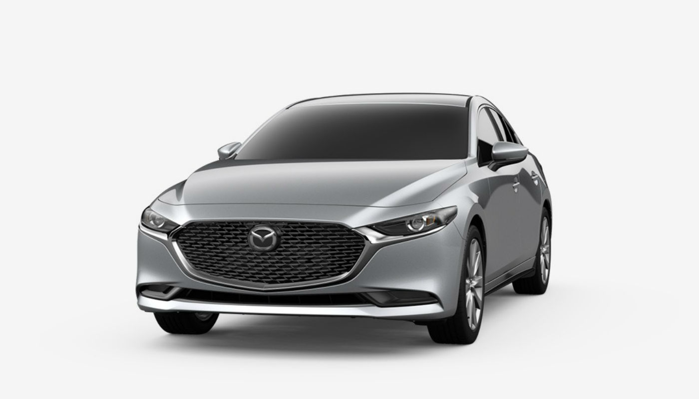 2019 Mazda3 Sedan in Sonic Silver Metallic