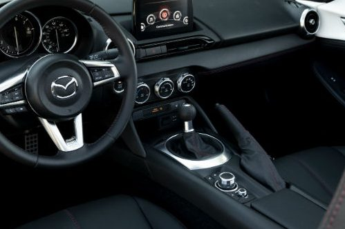 2019 Mazda MX-5 Miata Interior Black
