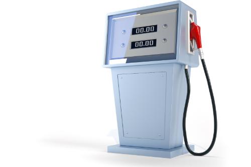 old school gas pump