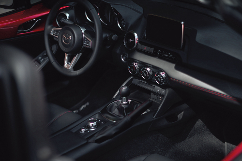 2019 Miata cockpit showcase