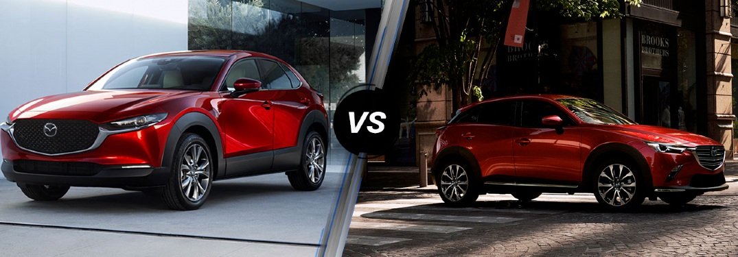 What's the difference between the CX-3 and the CX-30?