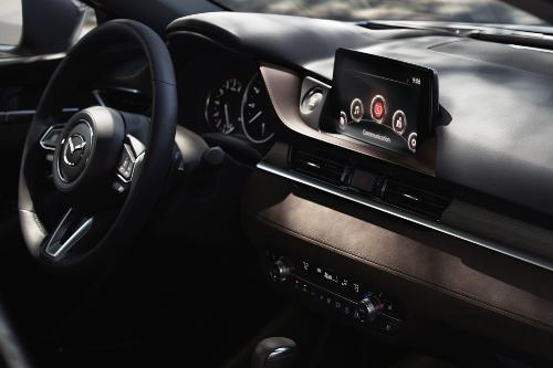 2020 Mazda6 cockpit showcase