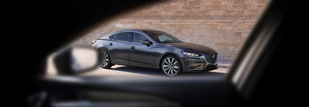 2020 Mazda6 seen through another car's window