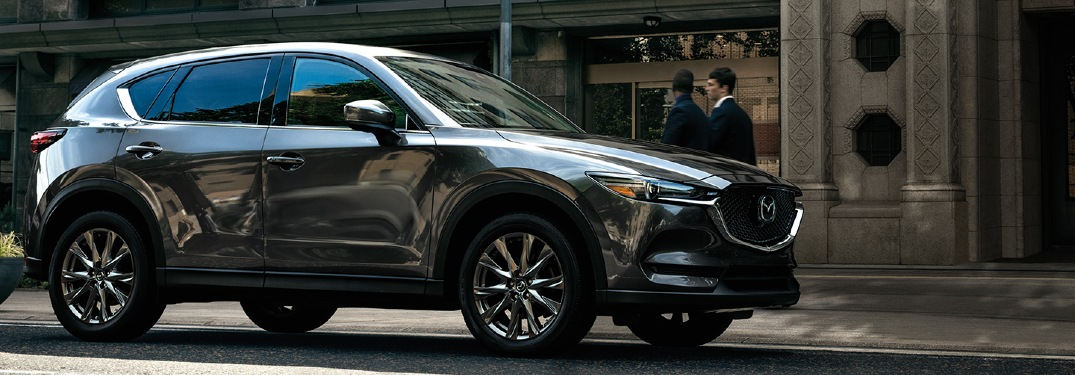 How many MPG does the 2020 Mazda CX-5 get?
