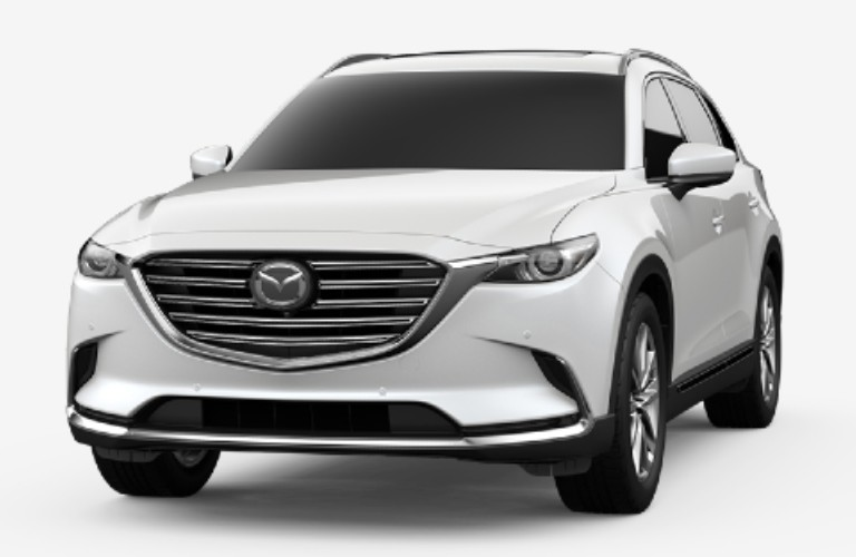 2020 CX-9 snowflake white