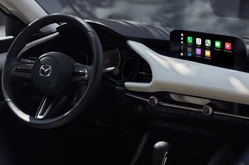 2020 Mazda3 cockpit