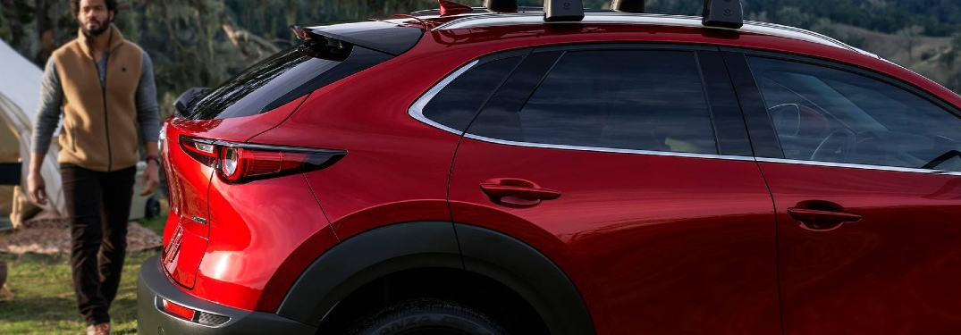 2020 CX-30 side exterior view