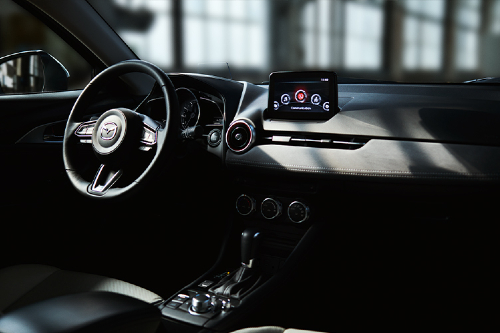 2020 CX-3 cockpit showcase