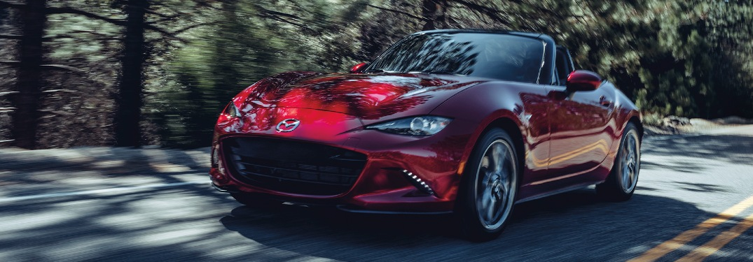 What is on the 2020 Miata performance package?