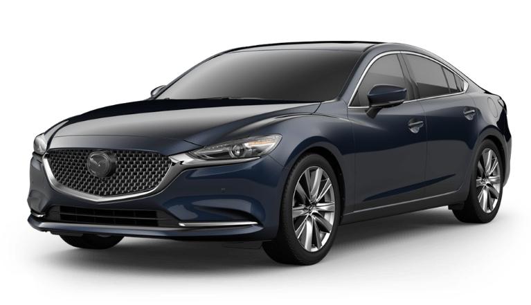 2020 Mazda6 deep crystal blue