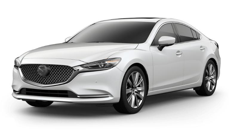 2020 Mazda6 snowflake white