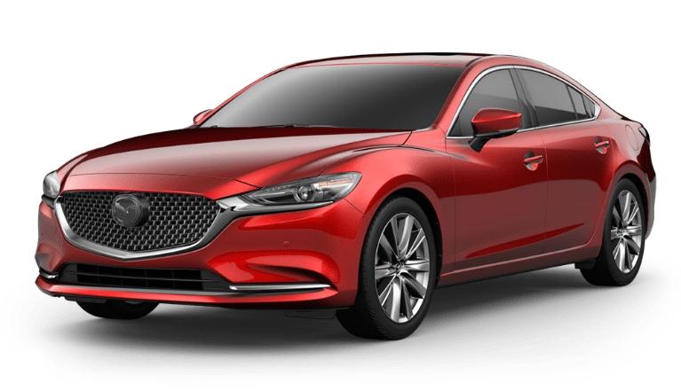 2020 Mazda6 soul red