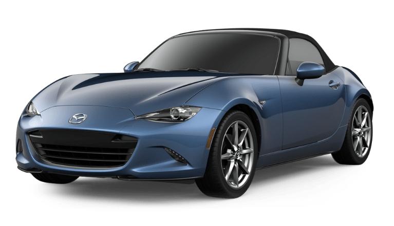 2020 Miata eternal blue
