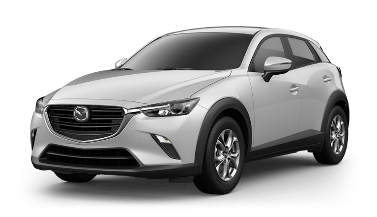 2020 CX-3 ceramic white