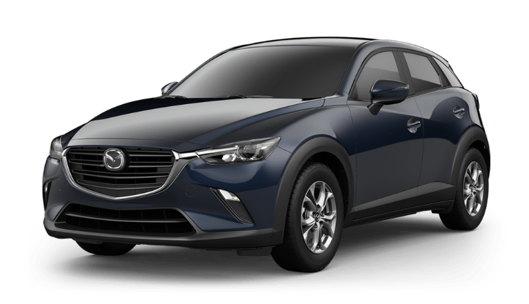 2020 CX-3 deep crystal blue