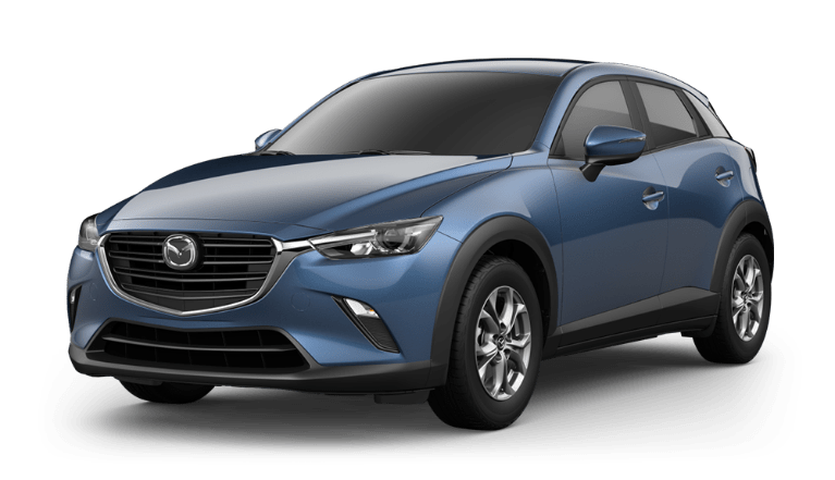 2020 CX-3 eternal blue