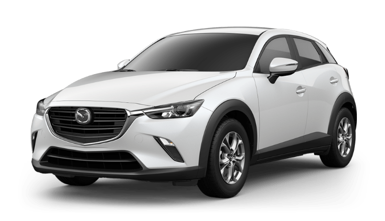 2020 CX-3 snowflake white