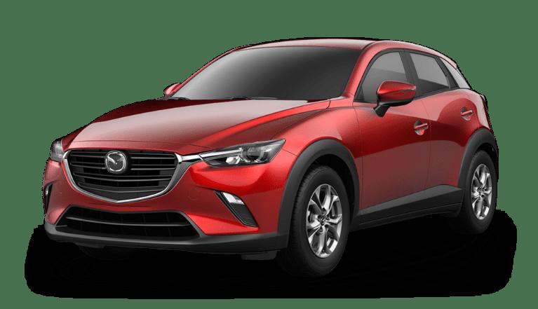 2020 CX-3 soul red