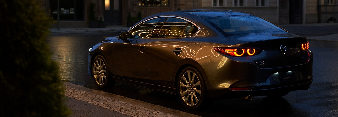 What colors does the 2020 Mazda3 Sedan come in?