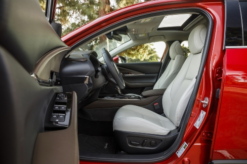 2020 CX-30 front seating showcase