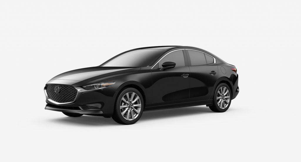2020 Mazda3 Sedan jet black