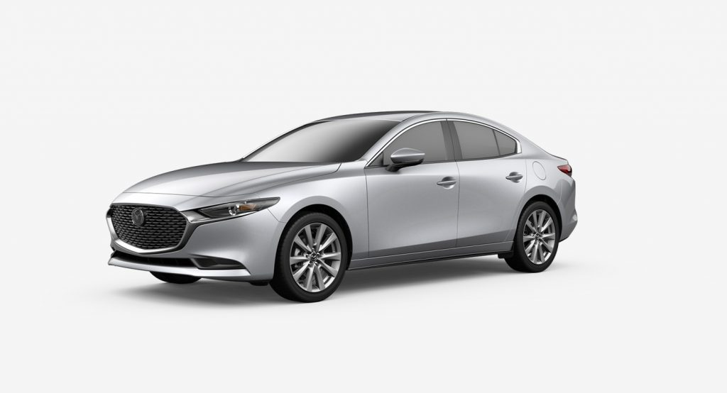 2020 Mazda3 Sedan sonic silver