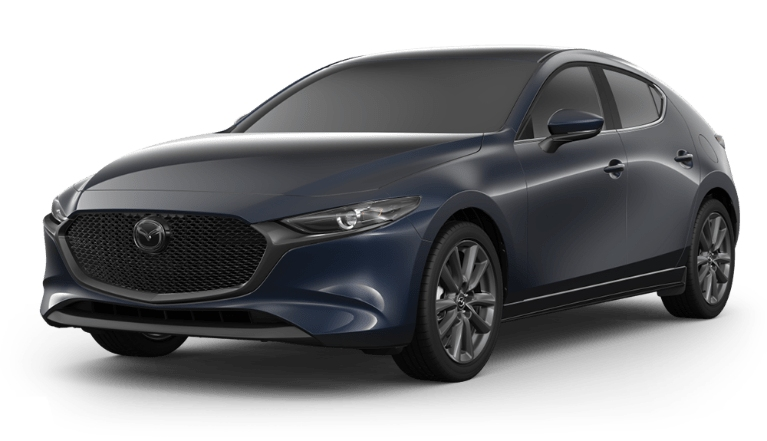 2020 Mazda3 Hatch crystal blue