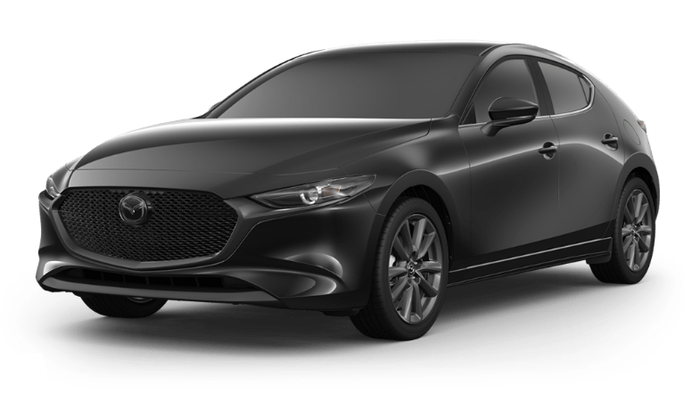 2020 Mazda3 Hatch jet black
