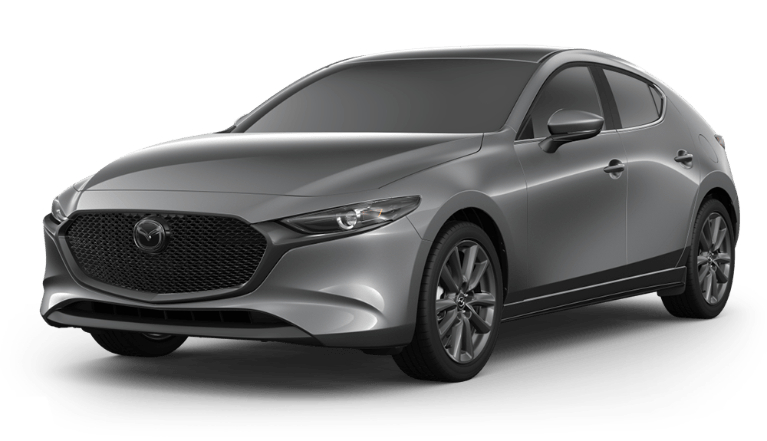 2020 Mazda3 Hatch machine gray