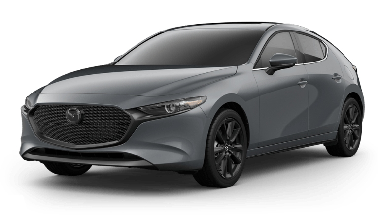 2020 Mazda3 Hatch polymetal gray