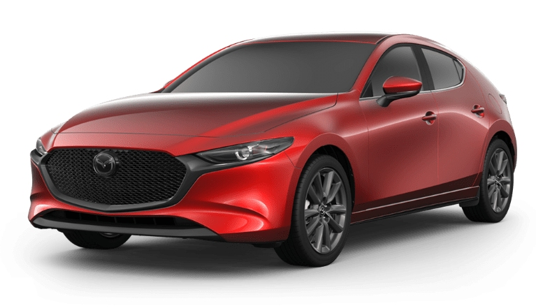 2020 Mazda3 Hatch soul red