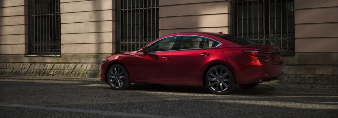 2021 Mazda6 parked on a sidestreet