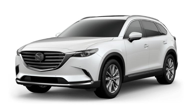 2021 CX-9 snowflake white