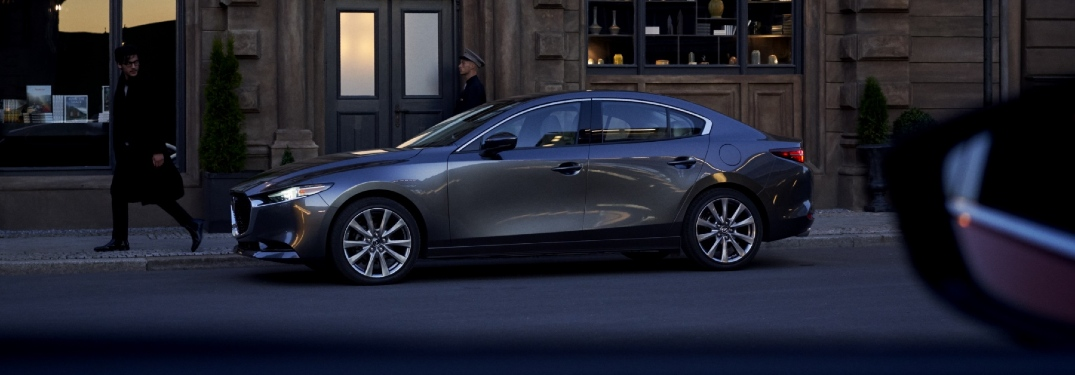 Which 2021 Mazda3 models have the new turbocharged engine?